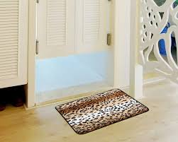 Leopard Bathroom Rug by Amazon Com Amariver Coral Velvet Cheetah Rug Animal Print