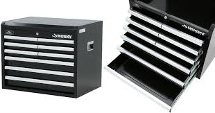home depot tool cabinet homedepot com husky 26 9 drawer tool chest only 49 regularly 99