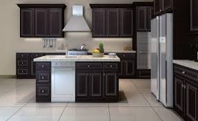 classic mocha or ivory glazed cabinets rta kitchen cabinets ship