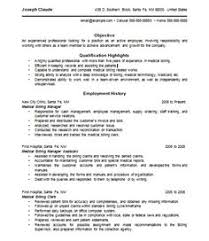 Top 8 Medical Billing Coordinator Resume Samples by Medical Billing Resume Samples Medical Billing Resume Samples