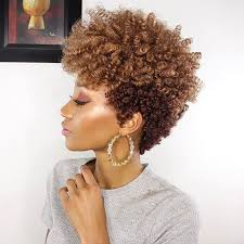 this short natural hair style by modelesque nic is so pretty