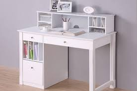 Small White Writing Desk Small White Desks Furniture Desk With Three Drawers On One Base