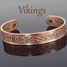 magnetic bracelet with copper images Viking bracelet mens copper bracelet arthritis joint wrist gift