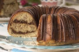 banana chocolate swirl cake mrfood com