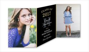 tri fold graduation announcements 28 exles of graduation invitation design psd ai vector eps