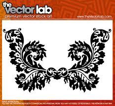ornamental flourishes vector