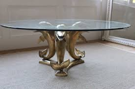 dolphin table with glass top coffee table dolphin coffee table fabulous sets for pottery barnth