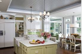 decorating remodeling kitchen ceiling ideas with tongue and