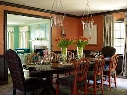 craftsman dining room with chair rail by lindsey coral harper