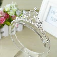 girl accessories aliexpress buy rhinestone princess crown headband baby girl