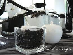 decoration mariage noir et blanc nuit des anges décoratrice de mariage décoration de table noir et