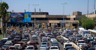 Traffic Map San Diego by Directions To The San Ysidro Border Crossing Discover Baja