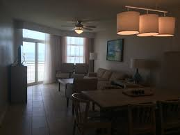 3 bedroom condos in myrtle beach 3 bedroom condo eating living area picture of wyndham ocean