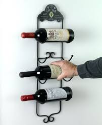 wine rack wall mounted wine racks completed glass holder home