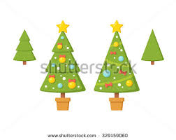 Decorate Christmas Tree Without Ornaments by Christmas Tree In Pot Stock Images Royalty Free Images U0026 Vectors
