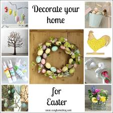easter home decorations artistic color decor contemporary on