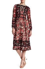 topshop dress topshop midnight floral embroidered dress nordstrom rack