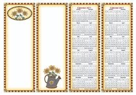 20 free printable calendars u0026 planners for 2011