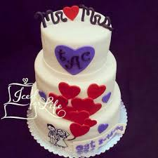 wedding gift opening heart balloon post wedding gift opening cake iced for