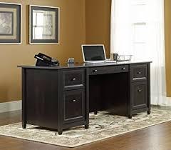 amazon office 2016 black friday amazon com sauder edge water executive desk estate black finish
