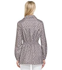 Tory Burch Plus Size Clothing Tory Burch Casey Jacket In Gray Lyst