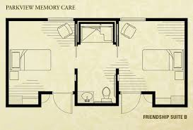 Parkview Floor Plan Locations Parkview Memory Care