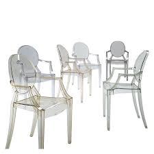 louis ghost armchair a modern twist on the louis xv chair