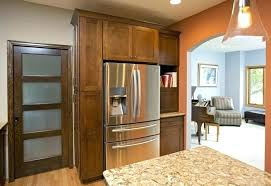 refrigerator cabinet side panels kitchen cabinets refrigerator coryc me
