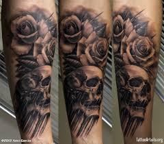 david coste signe une catrina bouche ouverte tatouage tattoo