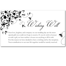 Wedding Gift List Wording Wedding Gift List Thank You Message Lading For