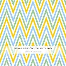 chevron pattern in blue green blue and yellow seamless chevron pattern by 123freevectors on