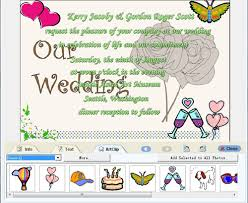 marriage invitations designs make wedding invitation cards