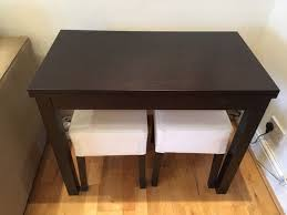 used ikea bjursta extendable table 2 nils stools in sw15 london