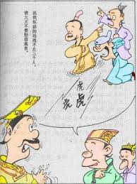 3 Blind Men And The Elephant Blind Men And The Elephant Mang Ren Mo Xiang A Chinese Idiom