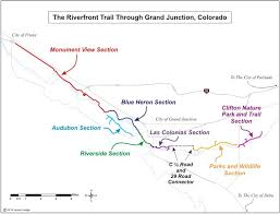 riverfront trail in grand junction grand junction road cycling maps