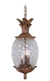 Mariana Lighting Fixtures Outdoor Marianahome Pineapple 3 Light Pendant Reviews Wayfair
