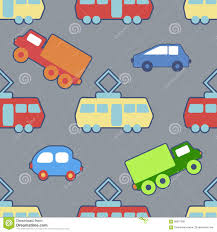 seamless background with a children u0027s toy stock vector image