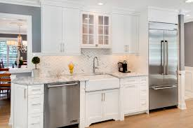 mission style cabinets kitchen timeless grey and white kitchen middletown new jersey by design