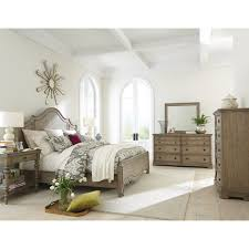 Acacia Bedroom Furniture by Queen Curved Panel Bed In Sun Drenched Acacia Finish By Riverside