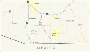 Map Of Southern Arizona by Arizona State Route 83 Wikipedia