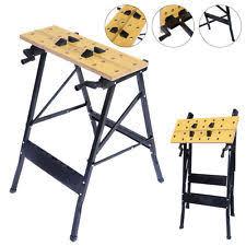 Keter Folding Bench Work Table Ebay