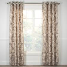 Lined Burlap Curtain Panels Curtains Grommet Top Decorate The House With Beautiful Curtains