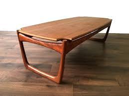 vintage mid century modern coffee table teak coffee table danish retro side vintage mid century modern
