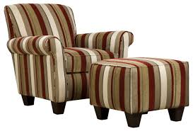 Upholstered Living Room Chairs Home Design Ideas - Chairs with ottomans for living room