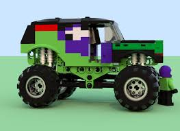 grave digger toy monster truck lego ideas monster jam ice cream man vs grave digger