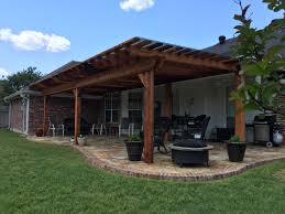 Pergola Off House by Deck Builder Garden Structures Pergolas U0026 Arbors Bossier City