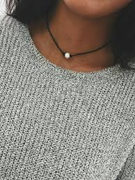pearl necklace chokers images How to style pearl jewelry jpg