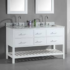 60 Modern Kitchen Furniture Creative Amazing Berkeley Inch White Finish Double Bathroom Vanity With