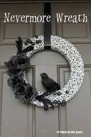 halloween wreath halloween wreath aka nevermore
