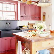 Red And Black Kitchen Cabinets by Red Country Kitchens Red Kitchen Cabinets With Black Soapstone